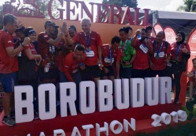 Sukses Penyelenggaraan Borobudur Marathon 2019, Generali Proteksi Seluruh Pelari