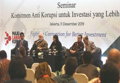 Antikorupsi Kuatkan Investasi di Indonesia