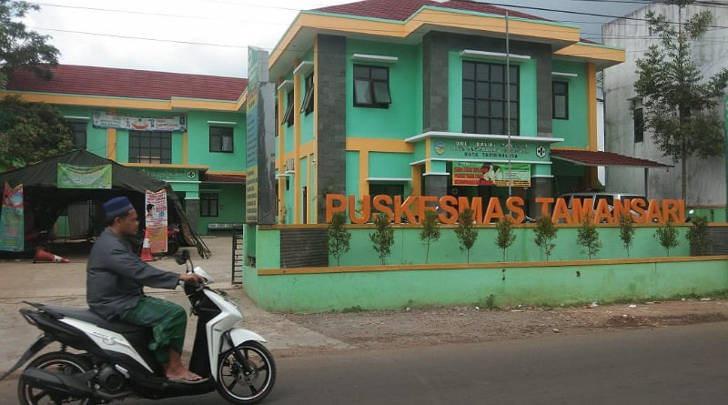 Puskesmas Tamansari, Kota Tasikmalaya./visi.news/tif