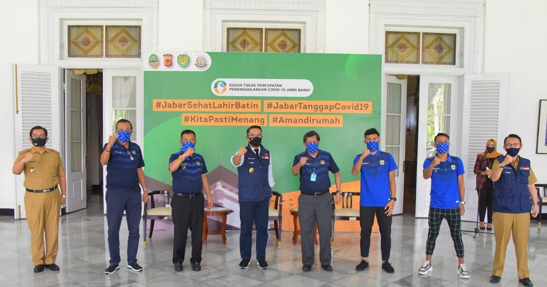 Ridwan Kamil Ajak Bobotoh Lawan Covid-19, Persib Bandung Sumbang  Ventilator,