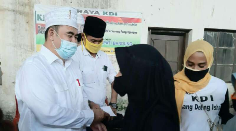 Akhiri Ramadan Tim KDI Santuni 600 Anak Yatim Piatu di Kabupaten Bandung
