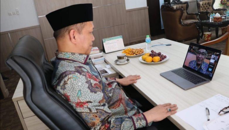Di Tengah Covid-19 UIN Bandung Gelar Halalbihalal Virtual