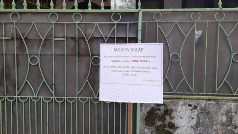 Pemilik Pulang dari Karawang, Rumah di Kab. Bandung Sempat Ditandai Zona Merah