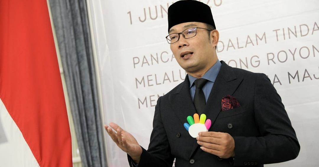 Ikuti Peringatan Hari Lahir Pancasila, Ridwan Kamil: Jangan Sampai Tergoda  Ideologi Agama
