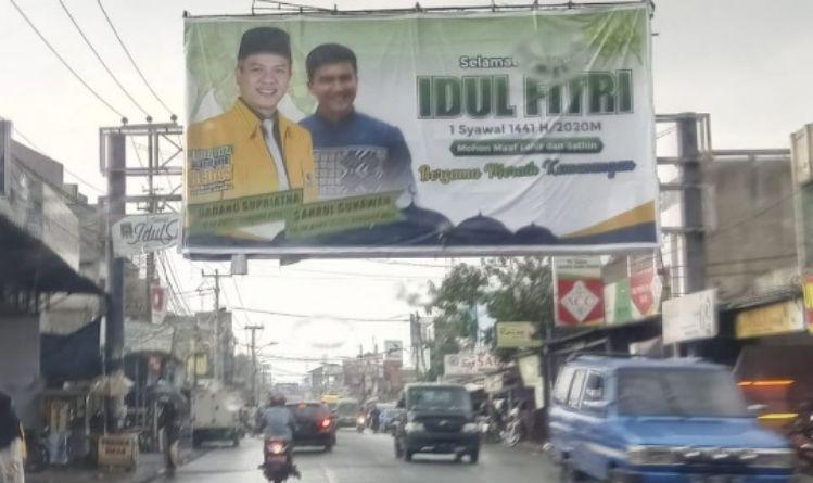 Pasang Baliho, Relawan Inginkan DS-Sahrul Unggul di Pilkada