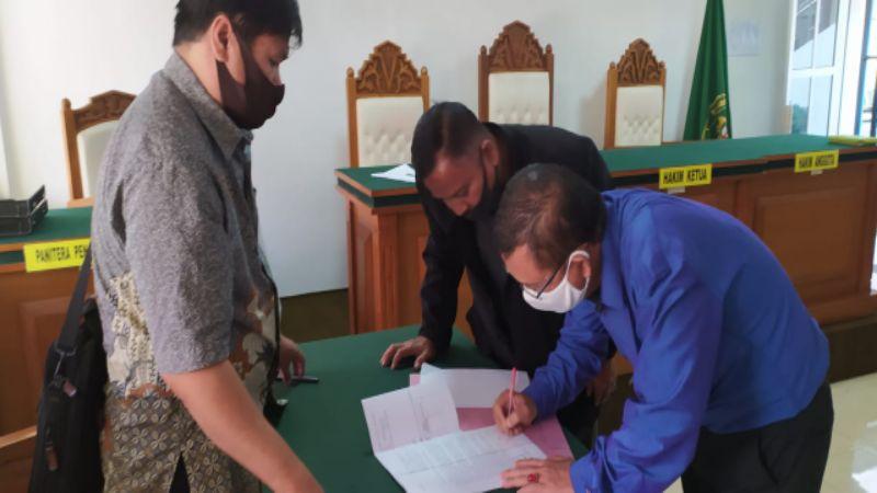 Sidang Pertama Gugatan Perdata Warisan di Jl. HZ Mustofa Tasikmalaya Baru Tahap Mediasi