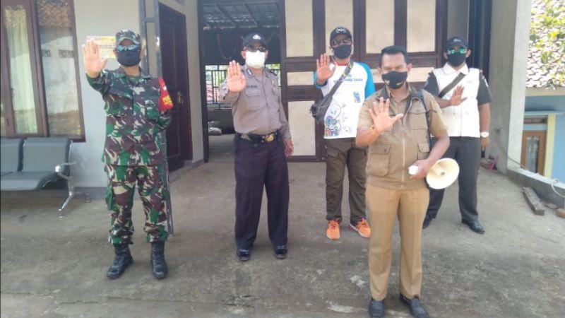 Karantina Mandiri Kampung Baeud  Resmi Berakhir
