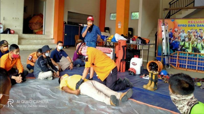 Kota Banjar Gelar Latber Protokoler Covid-19 dalam Bidang 'Vertical Rescue'