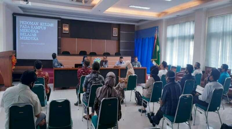 FU UIN SGD Bandung Bahas  Pedoman Kuliah di Kampus Merdeka -Belajar Merdeka