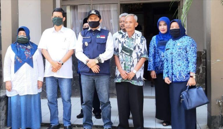Wabup dan Ketua Komisi D DPRD Kabupaten Bandung Monitoring PPDB di SMPN  1 & 3  Rancaekek
