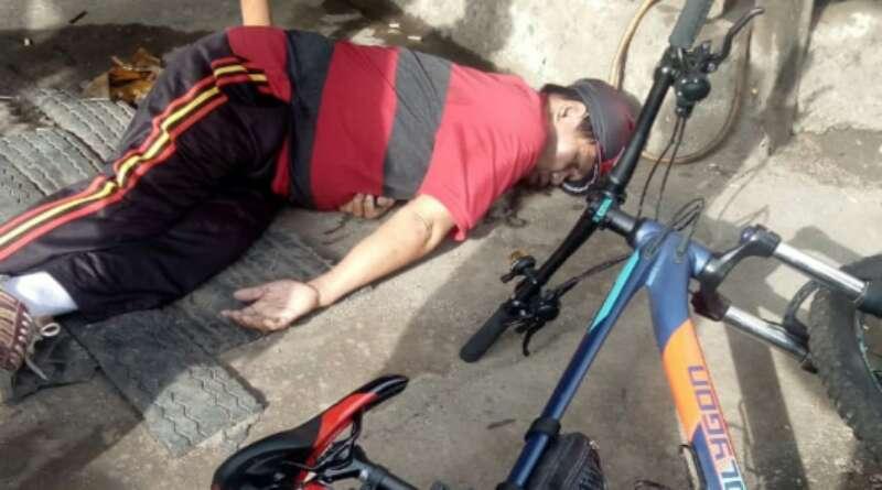"""Lagi Asyik """"Ngaboseh"""", Pesepeda di Cibeureum Kota Tasikmalaya Tiba-tiba Jatuh dan Meninggal Dunia"""