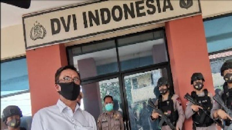 Jenazah Penyerang Polisi Karanganyar Ditolak di Madiun