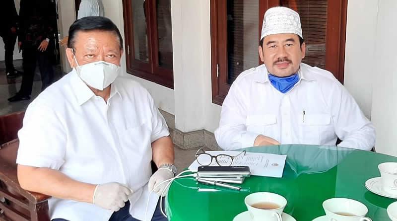 Pilkada Kab. Bandung, Ini Pesan Agung Laksono untuk Deding Ishak