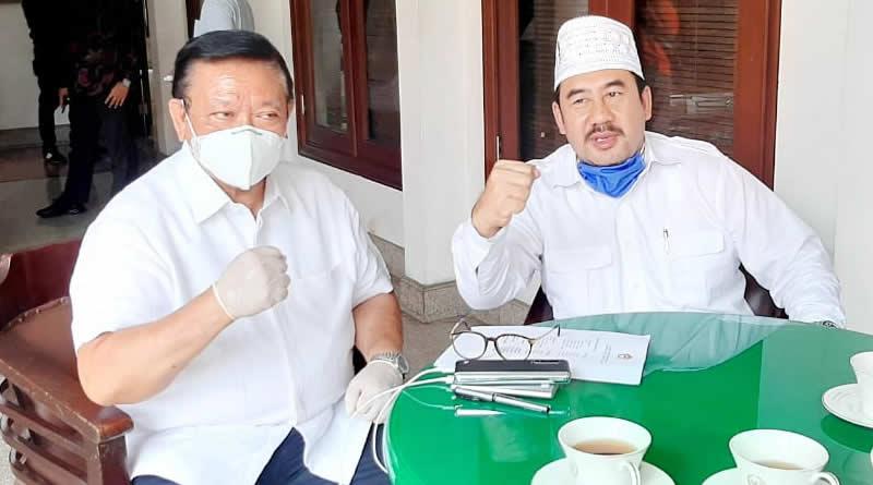 """Pilkada 2020, Deding, """"Saya Apresisi Ketua Bapilu Partai Golkar Kab. Bandung"""""""