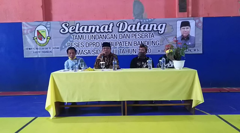 H. Totong Bahas Refocusing Saat Reses Masa Sidang III