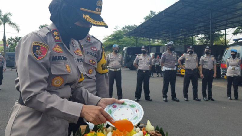Di Hari Bhayangkara, 29 Personel Polres Banjar Naik Pangkat