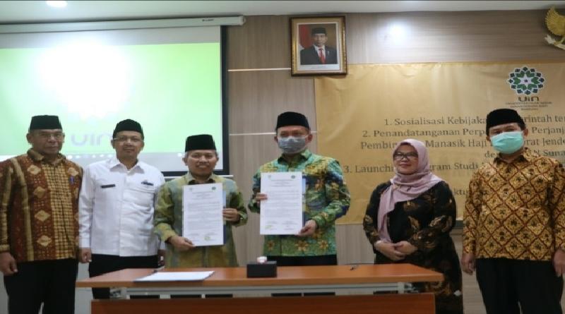 Prof. Dr. H. Nizar, M.Ag, Resmikan Prodi Manajemen Haji dan Umrah di UIN Bandung