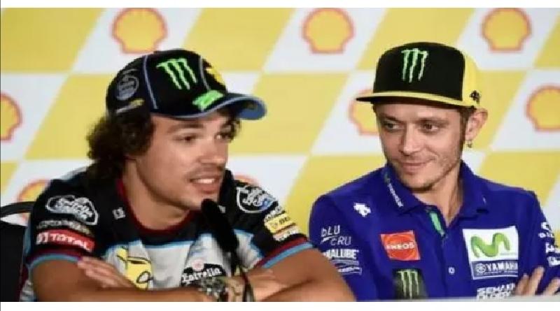 Bakal Gabung Petronas Yamaha, Rossi Tak Ragu Belajar dari Morbidelli