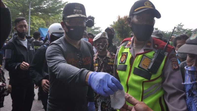 Gubernur Jabar: Kasus Covid-19 di Jawa Barat Sudah Mulai Terkendali