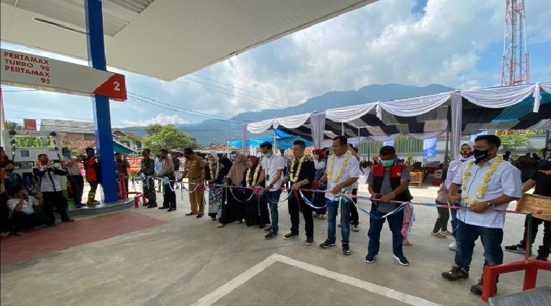 Permudah Masyarakat Dapatkan Pelayanan, Pertamina Resmikan SPBU di Cibatu