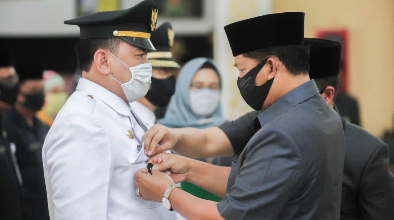 Bupati Bandung Lantik Tiga Pejabat Administrator