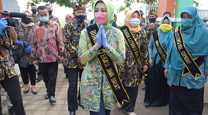 Perpustakaan Kab.Bandung Siap Bertarung di Lomba Perpusdes Jabar