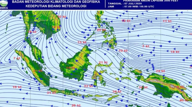 Prakiraan Cuaca Kota Bandung dan Sekitarnya, Selasa (7 Juli)
