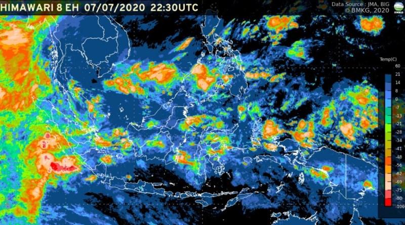 Prakiraan Cuaca Kota Bandung dan Sekitarnya, Rabu (8 Juli)