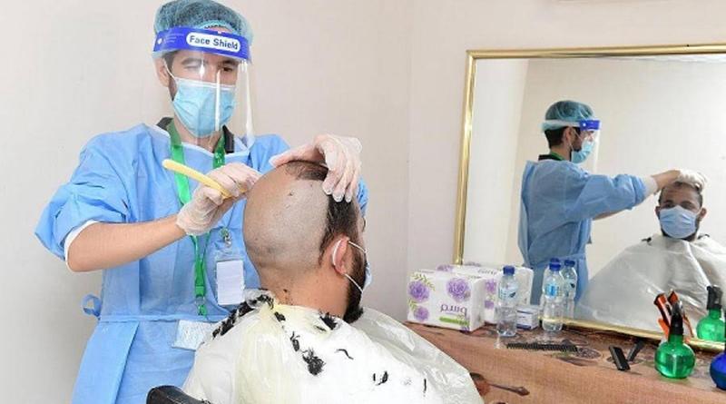 Layanan Istimewa Musim Haji Tahun ini, Tukang Cukurpun Dibawa ke Hotel
