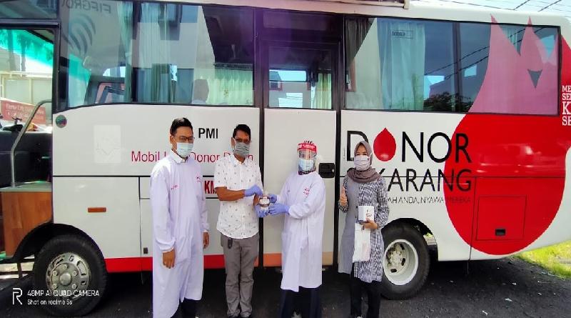 Peduli Sesama dan Bantu PMI, FIF Group Tasikmalaya Gelar Donor Darah