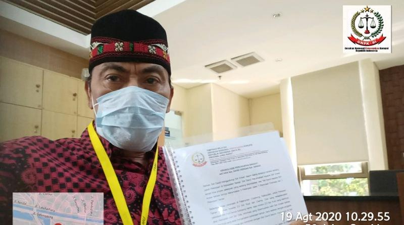 Lengkapi Data Tambahan, GNPK RI Jawa Barat Diminta Hadir ke Gedung KPK