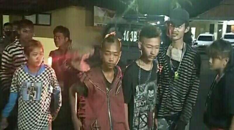 Pascaditemukan Mayat Anak Bercelana Seragam SD, Polsek Indihiang Razia Anak Punk