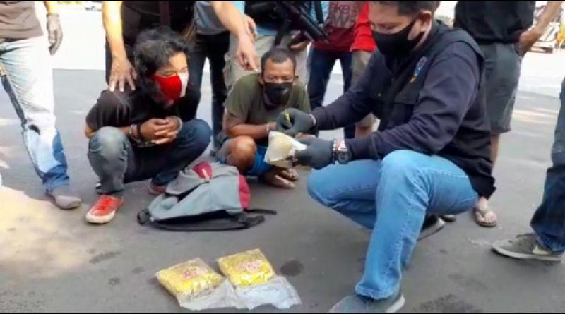 Warga Cileunyi Jadi Kurir, BNNP Jabar Gagalkan Pengiriman 3 Kg Sabu