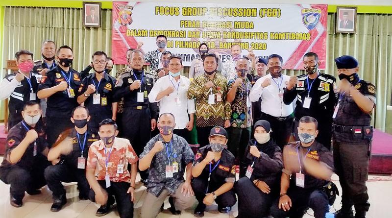 Untuk Pilkada yang Aman dan Damai, Polresta Bandung Gelar FGD