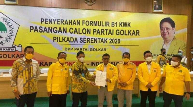 Partai Golkar Usung Daniel Mutaqien-Taufik Hidayat pada Pilkada Indramayu 2020