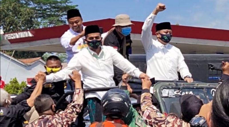 "Menawarkan Konsep ""Masagi"", Pasangan WANI Resmi Daftar ke KPU Kabupaten Tasikmalaya"