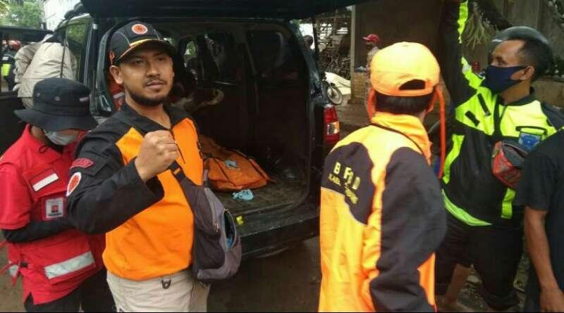 Seorang Pria Korban Terseret Banjir Bandang di Cicurug Sukabumi Ditemukan