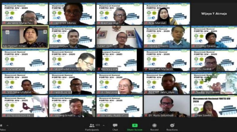 UIN Bandung dan Unpar Tuan Rumah Munas Virtual Forum Pendidikan Tinggi Teknik Elektro Indonesia XIV