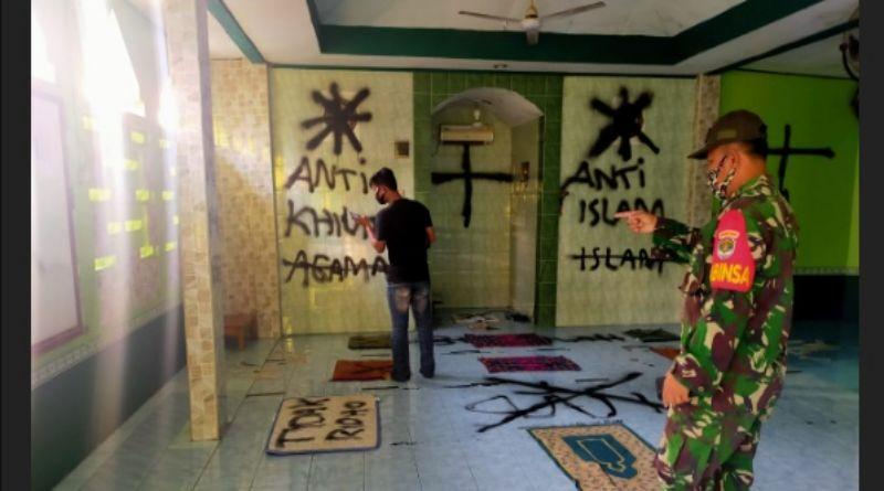 MUI Sebut Vandalisme Musala Darussalam Tidak Beradab