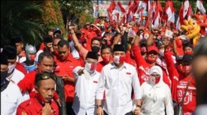 Kader PDIP Surabaya Konvoi, Bawaslu Sebut Bukan Pelanggaran
