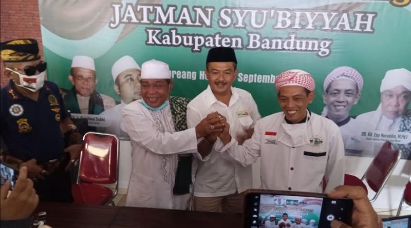 Jatman Syu'biyyah Kabupaten Bandung Gelar Rakor dan Deklarasi