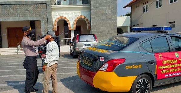 Hari Pertama Operasi Yustisi di Kota Tasikmalaya, 135 Pelanggar Dikenai Sanksi Sosial dan Denda
