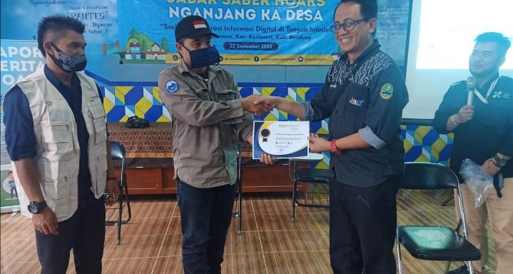 Jalin Kerja Sama Berkelanjutan, Ketua FK KIM Kab. Bandung Apresiasi Kunjungan Diskominfo Jabar