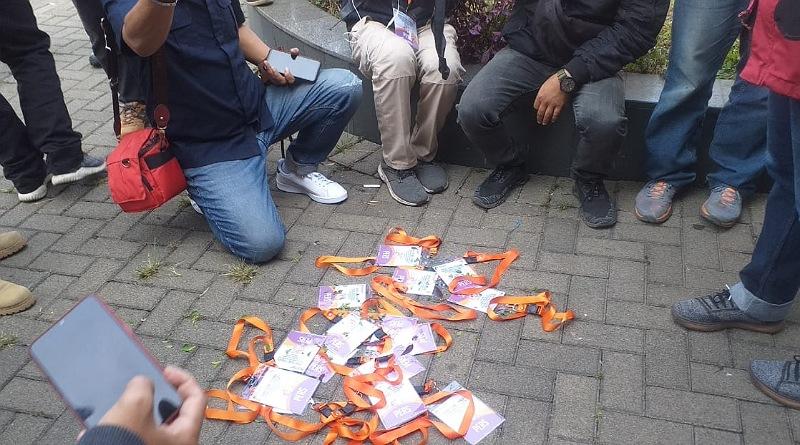 KPU Harus Konsekuen, Awak Media Wajar Lakukan Aksi