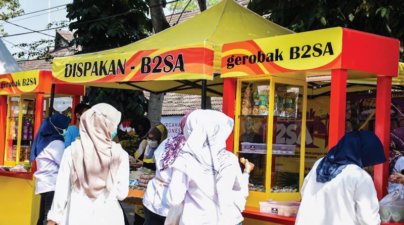 Pemkab Bandung Luncurkan Dua Gerobak B2SA