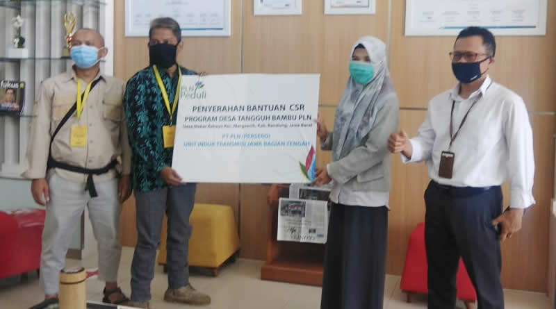 PT.PLN (Persero) Serahkan CSR untuk Program Bambu Juara