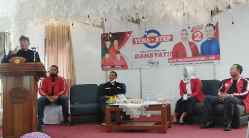 Ini yang Dikatakan Mantan Caleg Golkar Soal Cabup Bandung Yena Iskandar