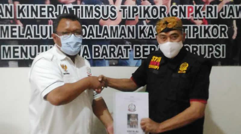Dugaan Korupsi di Kota Depok, GNPK RI Jabar Terima Lapdu