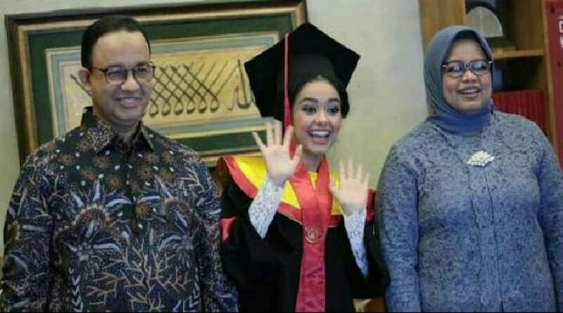 Mutiara Diwisuda, Anies Baswedan: Dia Tetap Anak Abah