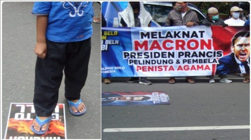 DSKK Protes Presiden Macron yang Dituding Menghina Nabi Muhammad Saw dan Umat Islam